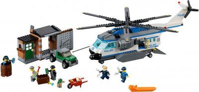 Конструктор Lego City Вертолётный патруль (60046) - общий вид