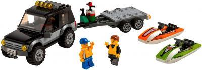 Конструктор Lego City Внедорожник с катером (60058) - общий вид