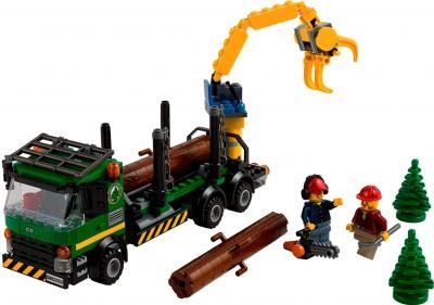 Конструктор Lego City Лесовоз (60059) - общий вид
