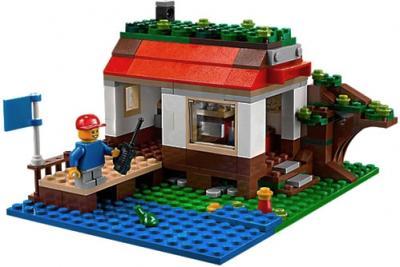 Конструктор Lego Creator Домик на дереве (31010) - домик на озере