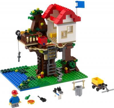 Конструктор Lego Creator Домик на дереве (31010) - домик на дереве