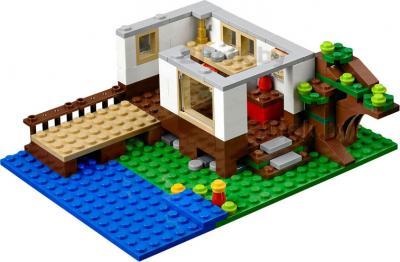 Конструктор Lego Creator Домик на дереве (31010) - в каждом домике можно снимать крышу