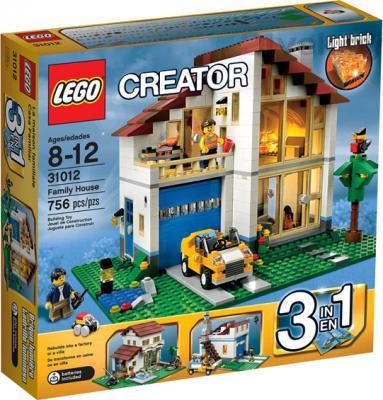 Конструктор Lego Creator Семейный домик (31012) - упаковка