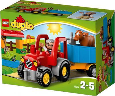 Конструктор Lego Duplo Сельскохозяйственный трактор (10524) - упаковка