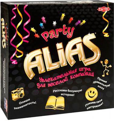 Настольная игра Tactic Алиас. Вечеринка / Party Alias - коробка