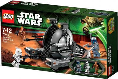 Конструктор Lego Star Wars Дроид-танк Альянса (75015) - упаковка