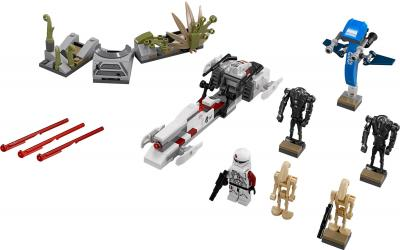 Конструктор Lego Star Wars Битва на планете Салукемай (75037) - общий вид