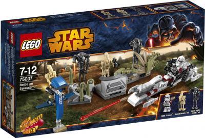 Конструктор Lego Star Wars Битва на планете Салукемай (75037) - упаковка