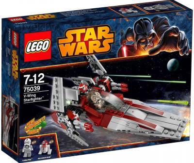 Конструктор Lego Star Wars Звёздный истребитель V-wing (75039) - упаковка