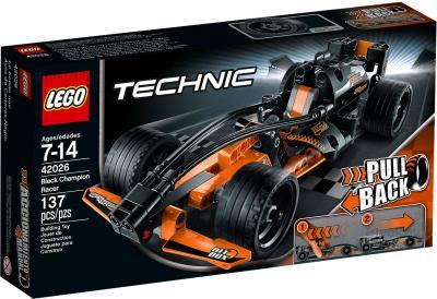 Конструктор Lego Technic Чёрный гоночный автомобиль (42026) - управление