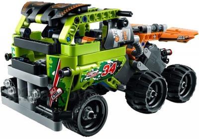Конструктор Lego Technic Чёрный гоночный автомобиль (42026) - гоночный грузовик, который получается при совмещении с Lego 42027