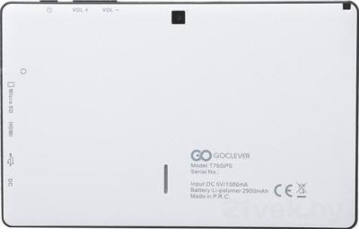 Планшет GoClever TAB T76 GPS TV (+ карта памяти 8Gb) - вид сзади