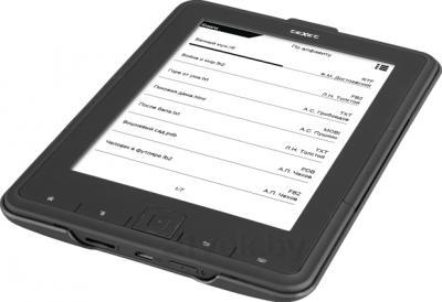 Электронная книга TeXet TB-136SE (Black) - общий вид