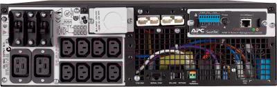 ИБП APC Smart-UPS RT 5000VA (SURTD5000XLI) - вид сзади