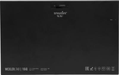 Планшет Wexler TAB 10iQ (8GB, 3G, черный) - вид сзади