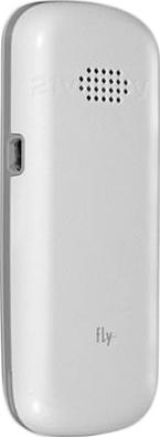 Мобильный телефон Fly DS103D (White) - задняя панель