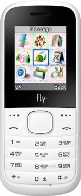Мобильный телефон Fly DS103D (White) - общий вид