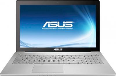 Ноутбук Asus N750JV-T4201D - фронтальный вид