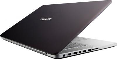 Ноутбук Asus N750JV-T4201D - вид сзади