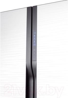 Холодильник с морозильником Samsung RS552NRUA1J/WT