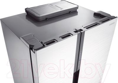 Холодильник с морозильником Samsung RS552NRUA1J/WT - вид сверху