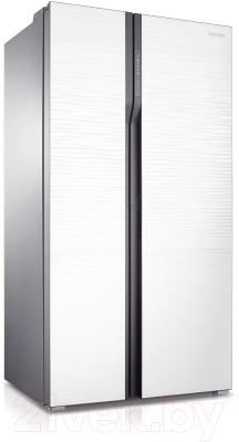 Холодильник с морозильником Samsung RS552NRUA1J/WT - общий вид