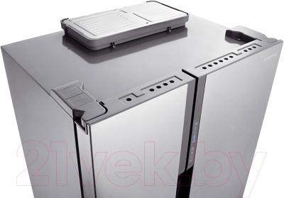 Холодильник с морозильником Samsung RS552NRUASL/WT - вид сверху