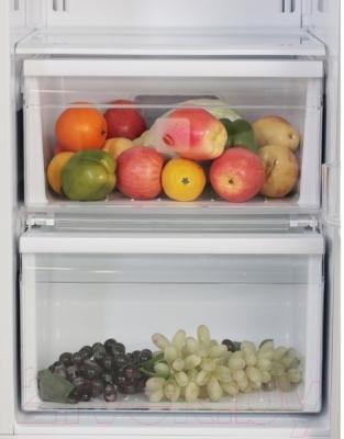 Холодильник с морозильником Samsung RS552NRUASL/WT