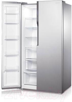 Холодильник с морозильником Samsung RS552NRUASL/WT - морозильная камера