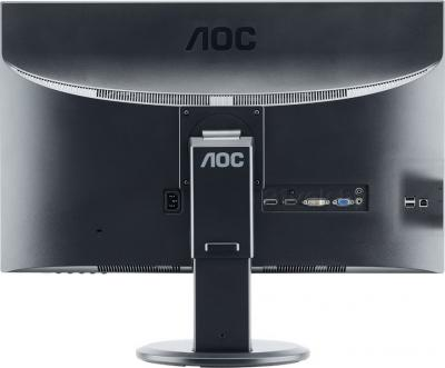 Монитор AOC e2752Pqu - вид сзади