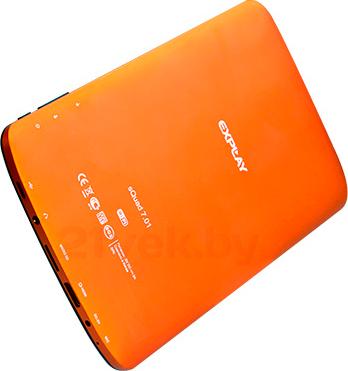Планшет Explay sQuad 7.01 (Orange) - вид сзади