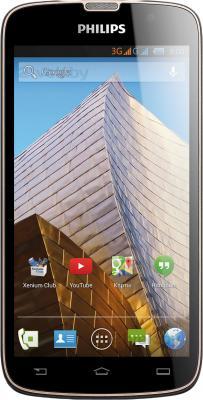 Смартфон Philips Xenium W8555 (Dark Gray) - общий вид