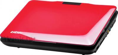 Портативный DVD-плеер BBK PL747TI (красный) - с закрытой крышкой