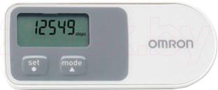 Шагомер Omron Walking Style 2.0 HJ-320-E (White) - вид спереди
