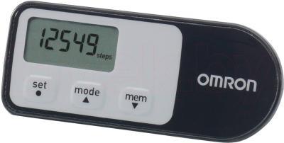 Шагомер Omron Walking Style 2.1 HJ-321-E (Black) - общий вид