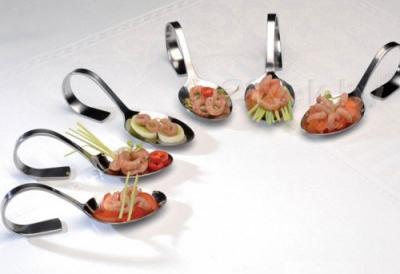 Набор ложек для закусок BergHOFF Bistro 1204017 - с холодными закусками