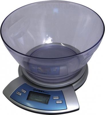 Кухонные весы FIRST Austria FA-6406 (серебристый) - общий вид