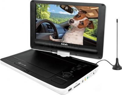 Портативный DVD-плеер BBK PL949TI (White) - общий вид