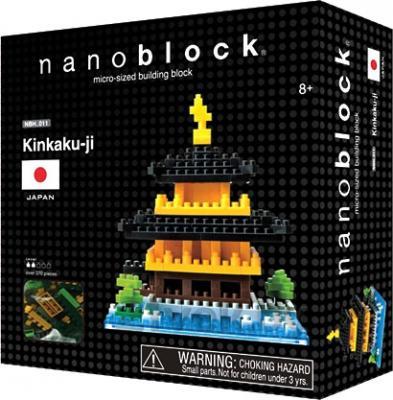 Микроконструктор Kawada Nanoblock Золотой Павильон Кинкаку-дзи (NBH 011) - упаковка