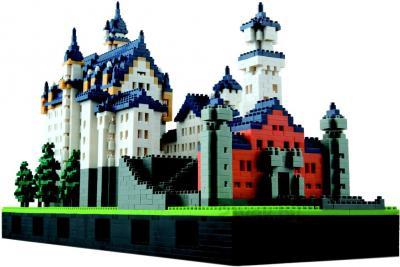 Микроконструктор Kawada Nanoblock Большой замок - общий вид