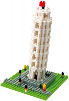 Микроконструктор Kawada Nanoblock Пизанская башня - общий вид