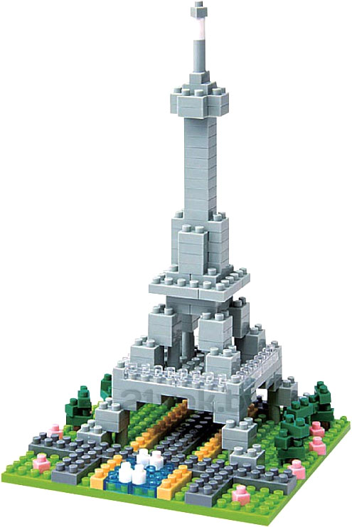 Nanoblock Эйфелева башня 21vek.by 250000.000