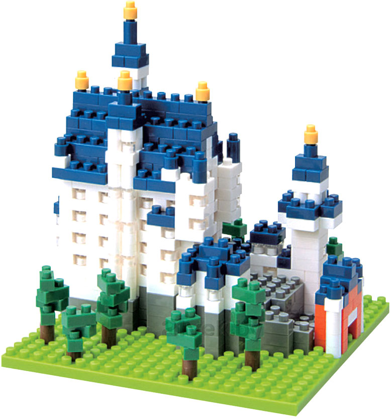 Nanoblock Замок Нойшванштайн 21vek.by 259000.000
