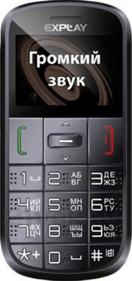 Мобильный телефон Explay BM50 (Black) - общий вид