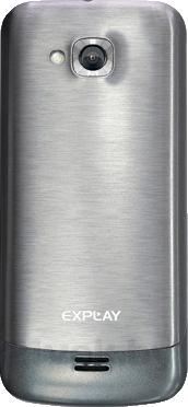 Мобильный телефон Explay Fin (Gray) - задняя панель