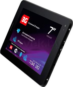 Планшет Explay Surfer 7.34 3G (Black) - общий вид