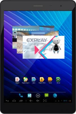 Планшет Explay sQuad 7.82 3G (Black) - общий вид