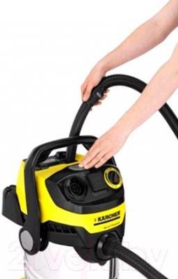 Пылесос Karcher MV 6 P Premium / WD 6 P Premium (1.348-271.0) - очистка пылесоса