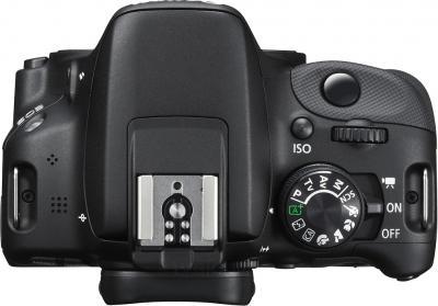 Зеркальный фотоаппарат Canon EOS 100D Kit 18-55mm III (Black) - вид сверху