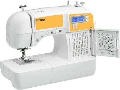 Швейная машина Brother MS60E - швейная подсказка под фоторамкой